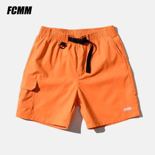 [FCMM] 유틸리티 스케이트보드 하프팬츠 - 오렌지