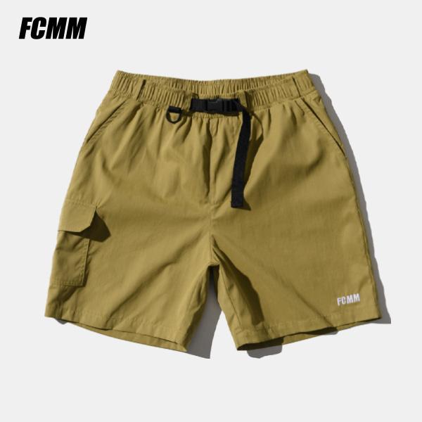 [FCMM] 유틸리티 스케이트보드 하프팬츠 - 베이지