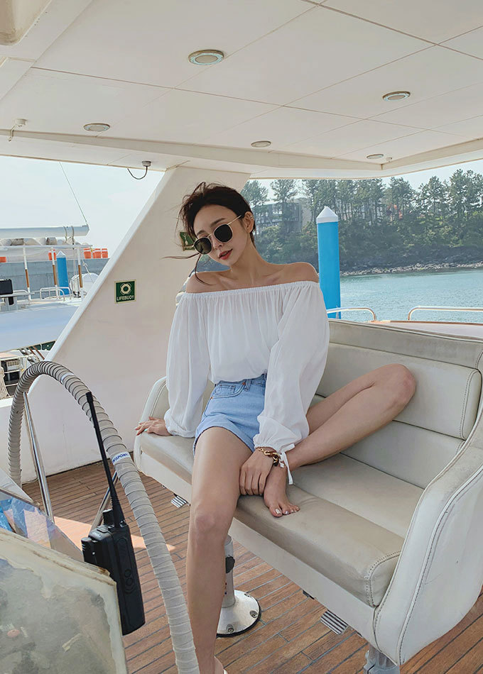 Edlene Off Shoulder Blouse