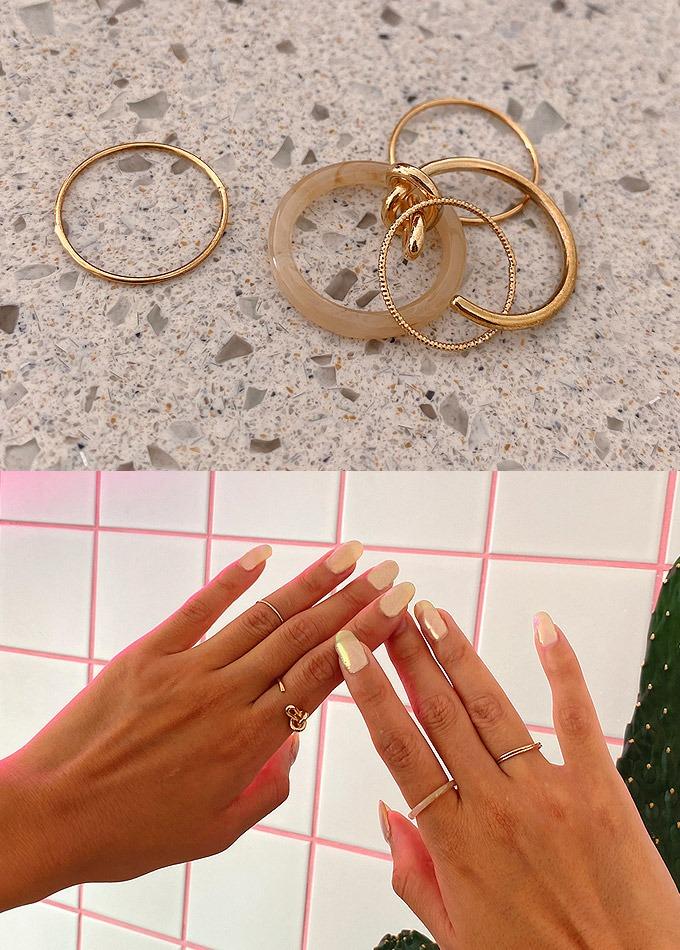 Iliana 5set ring