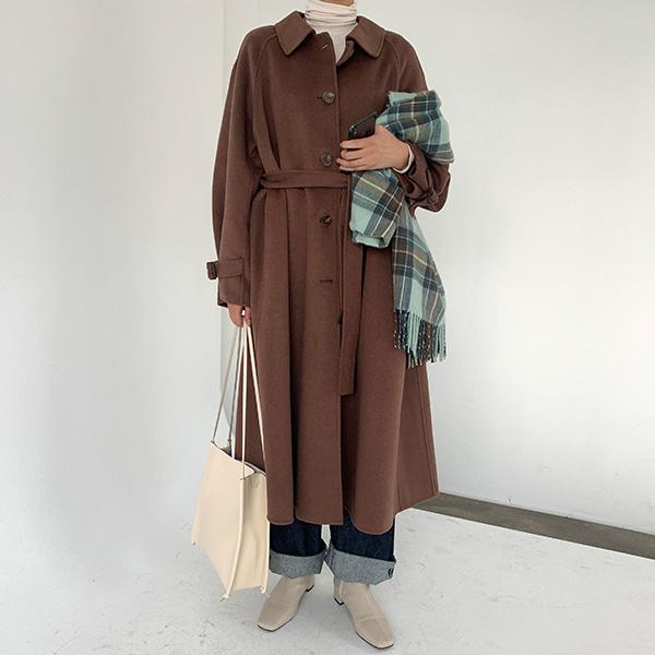 [ハンドメイド]フレンチロングコート(3colors,Wool50%)💛66girls💛