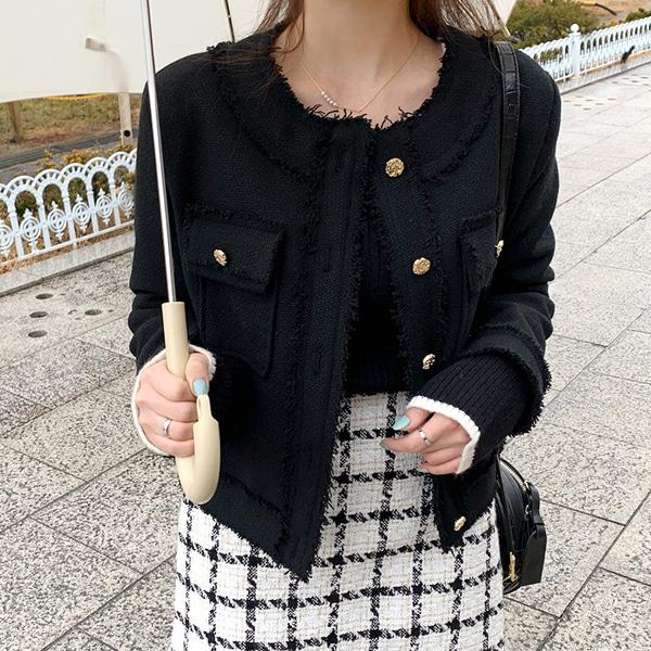[LL]ウィークツイードジャケット(wool40%)💛66girls💛