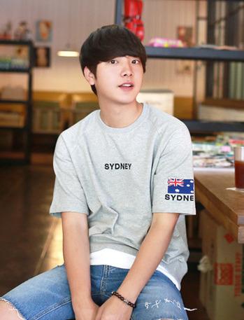 씨두니 레이어드 맨투맨 티셔츠 (3color)