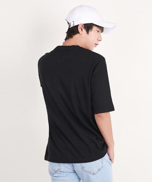 시원한 로고 반팔 티셔츠