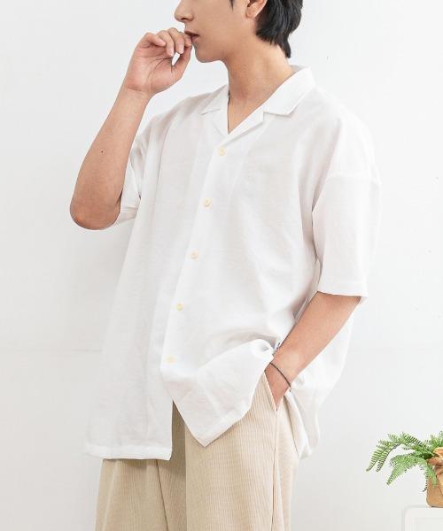 메콜리 반팔 셔츠
