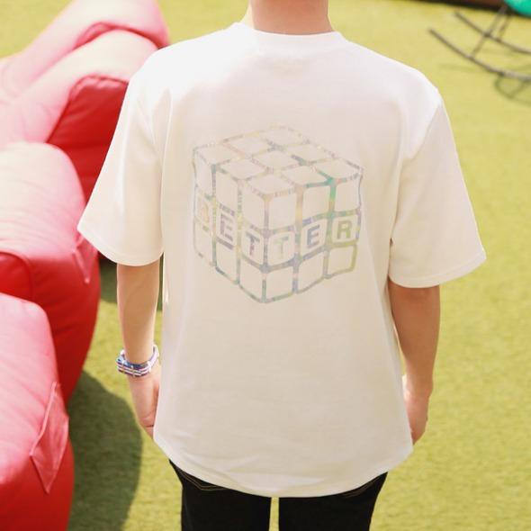 홀로그램 반팔 티셔츠