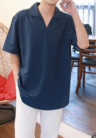 FitUs|カラーポイント半袖Tシャツ