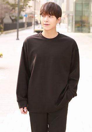 FitUs|サイドスリット長袖Tシャツ