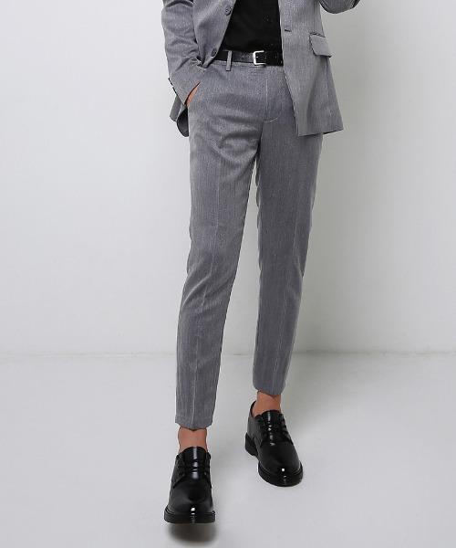 2타입 데일리 suit 바지 (그레이)