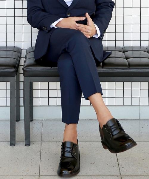 데일리 기본 suit 바지 (네이비)