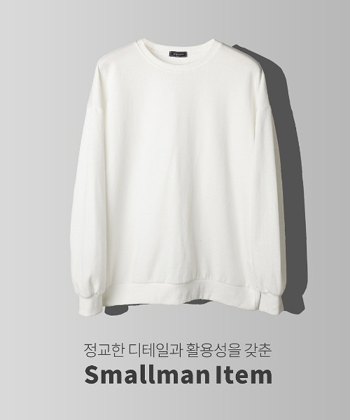 일등 핏 무지 맨투맨 티셔츠