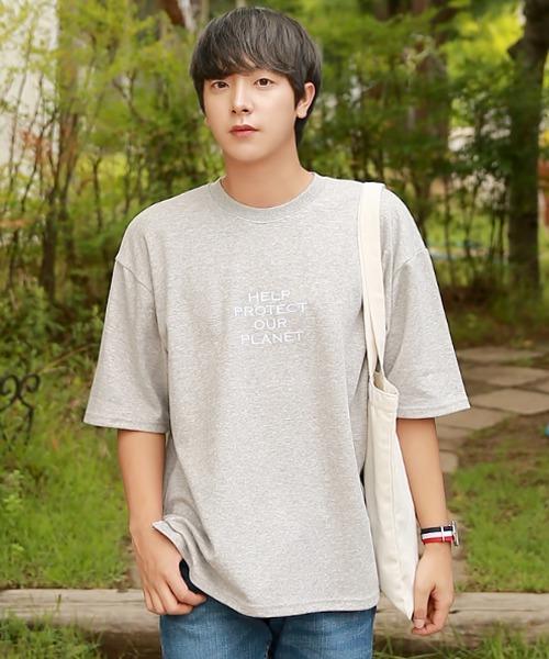 남자 여름 코디 5부 티셔츠
