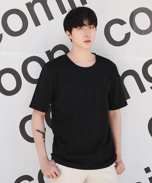 남자 베이직 반팔 티셔츠