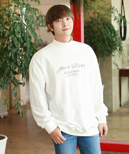 답답함 없는 반목 맨투맨 티셔츠