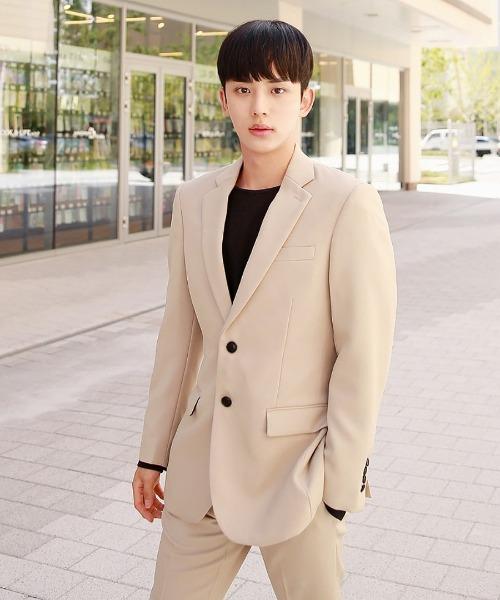 데일리 기본 suit 자켓 (베이지)