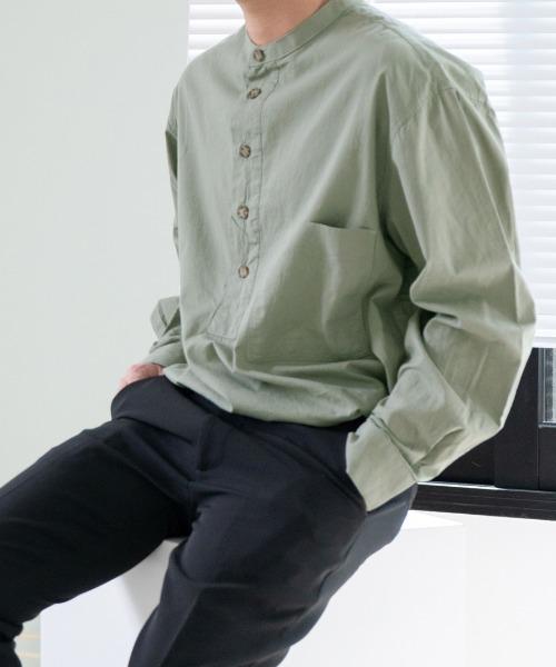 옥슬리 헨리넥 셔츠
