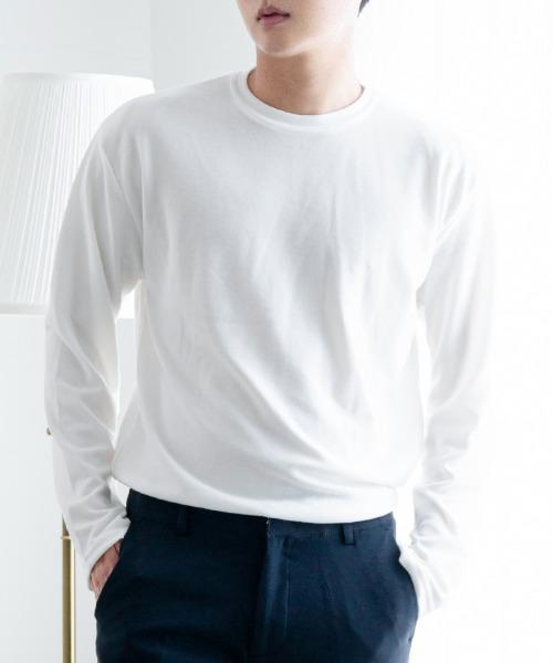하이 무지 티셔츠