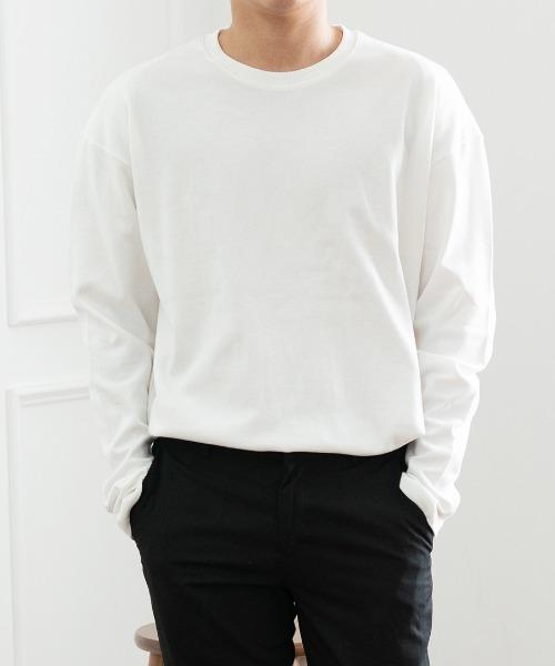 와즐 양면 긴팔 티셔츠