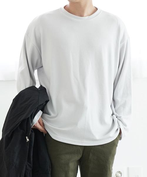 니트 트임 티셔츠