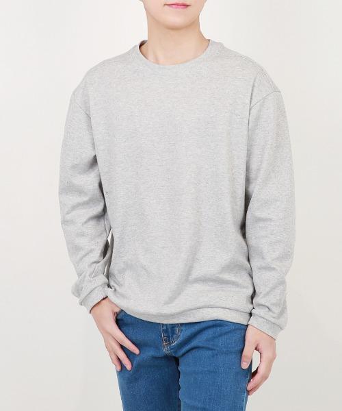 남자 어깨 포인트 티셔츠