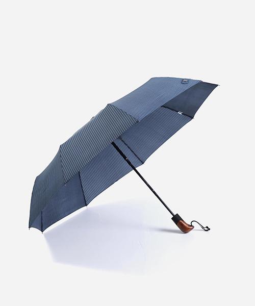 PARACHASE 3108 스트라이프 패턴 자동 3단 우산 - 2컬러
