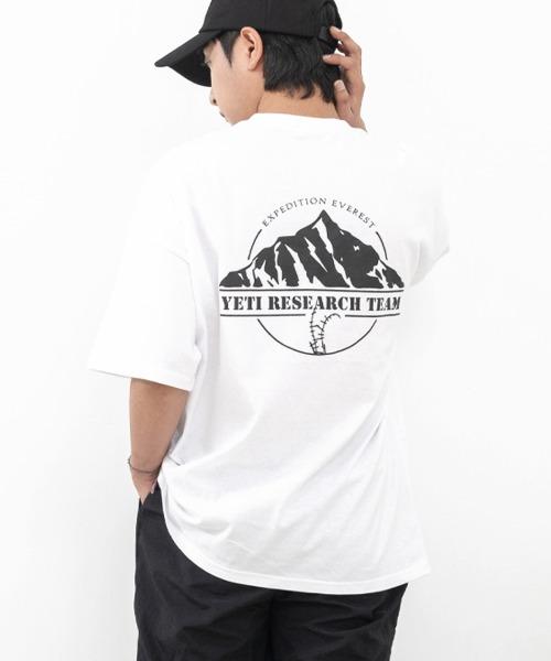 마운틴 에베레스트 반팔 티셔츠
