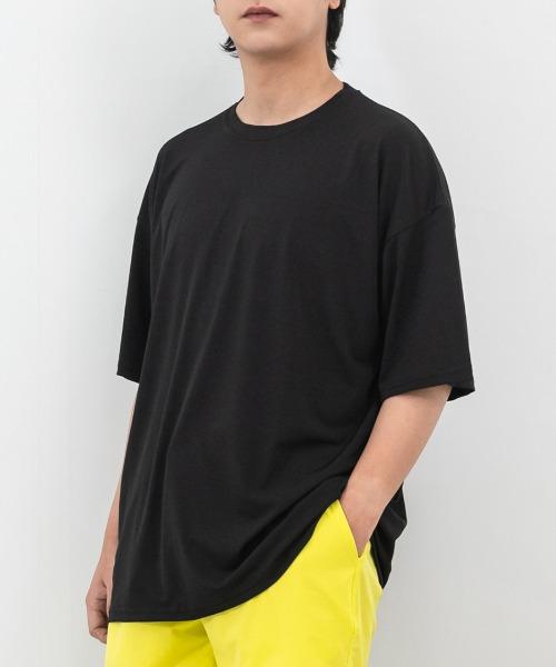 오버핏 쿨링 반팔 티셔츠
