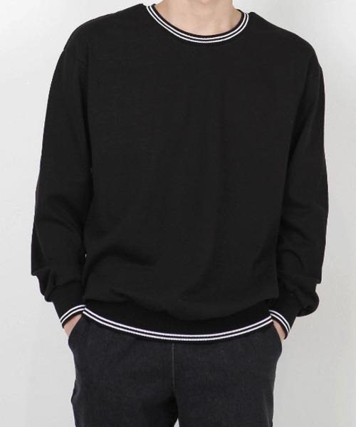 요꼬 라운드 맨투맨 티셔츠