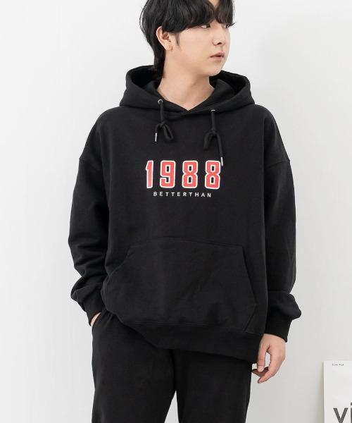 솔리드 1988 후드 티셔츠