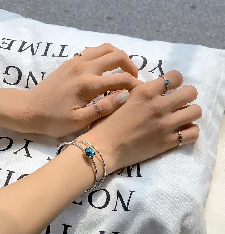 [무료배송] 10set잼펄_ring&bracelet