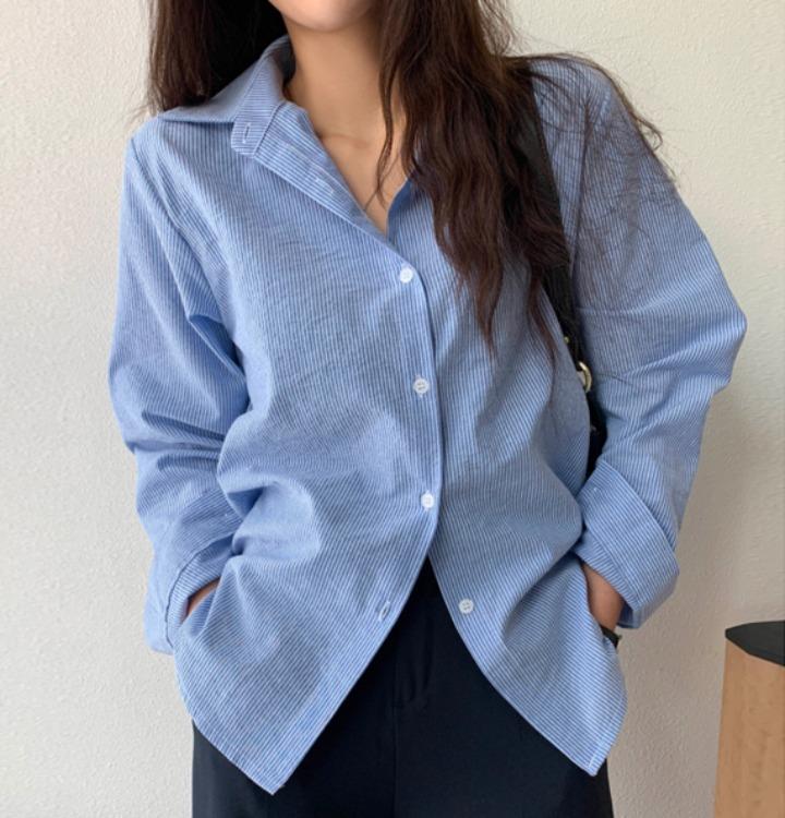 [무료배송] 로덴 스트라이프 셔츠 - 4 color