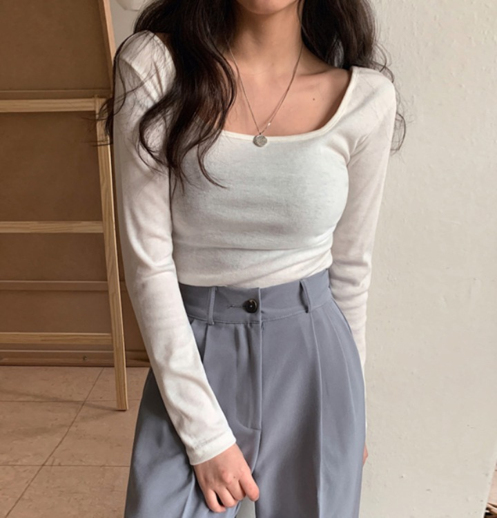 [무료배송] 레이드 스판 스퀘어 티셔츠 - 5 color