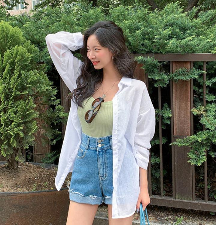 [무료배송] 마린 박스핏 아사 셔츠 - 4 color