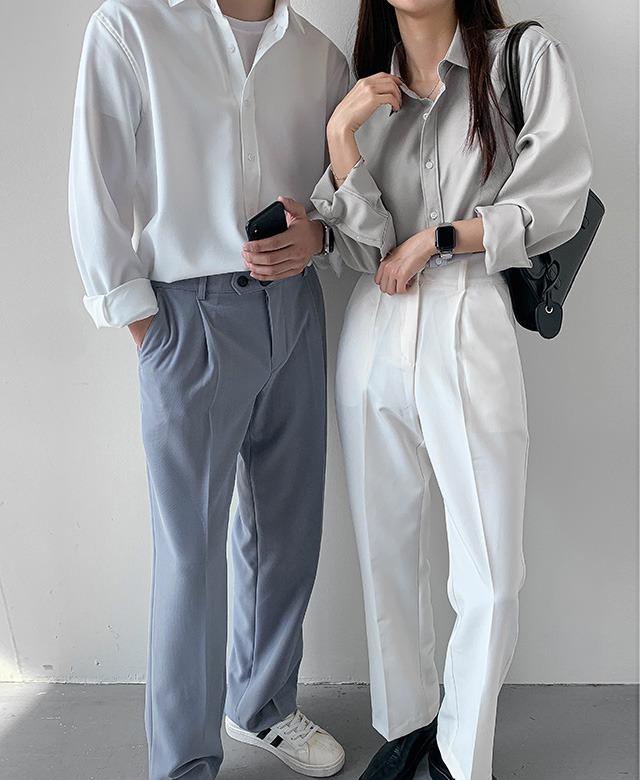 [UNISEX] リラクシーオーバーシャツ