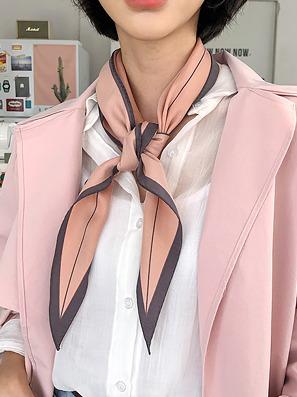 シンプルラインスカーフ