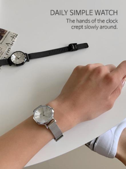 [무료배송] 로우메탈시계