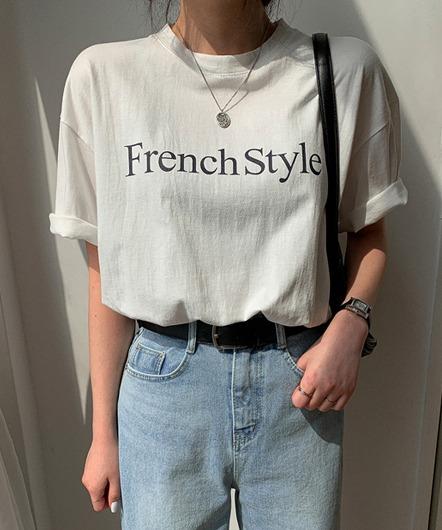 フレンチルーズTシャツ
