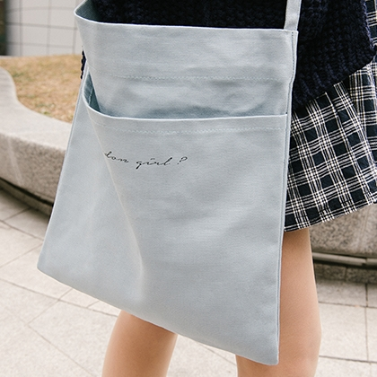 LONDON GIRL Crossbody Tote Bag