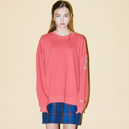 HIDE AND SEEKMOI With Rose Embroidery Sweatshirt