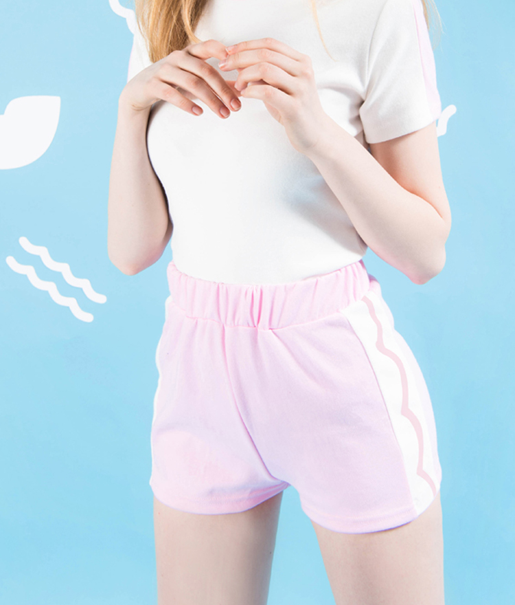 SEANLIPSide Line Contrast Shorts