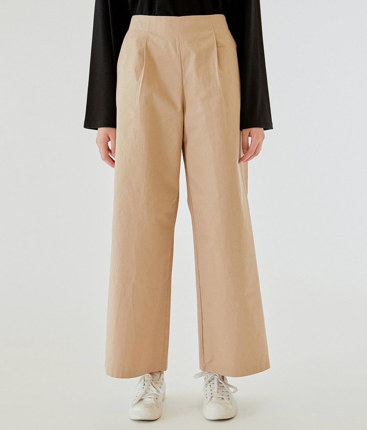 ESSAYHigh Waist Loose Fit Pants