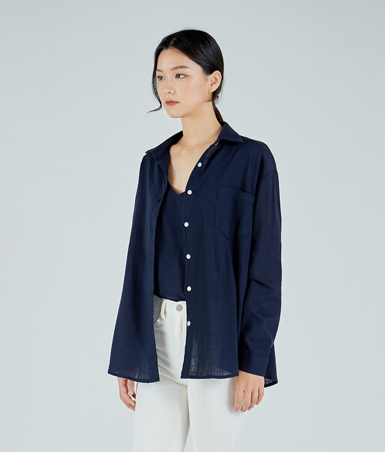 ESSAYButton-Up Cotton Shirt