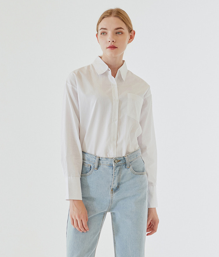 ESSAYChest Pocket Oversized Shirt