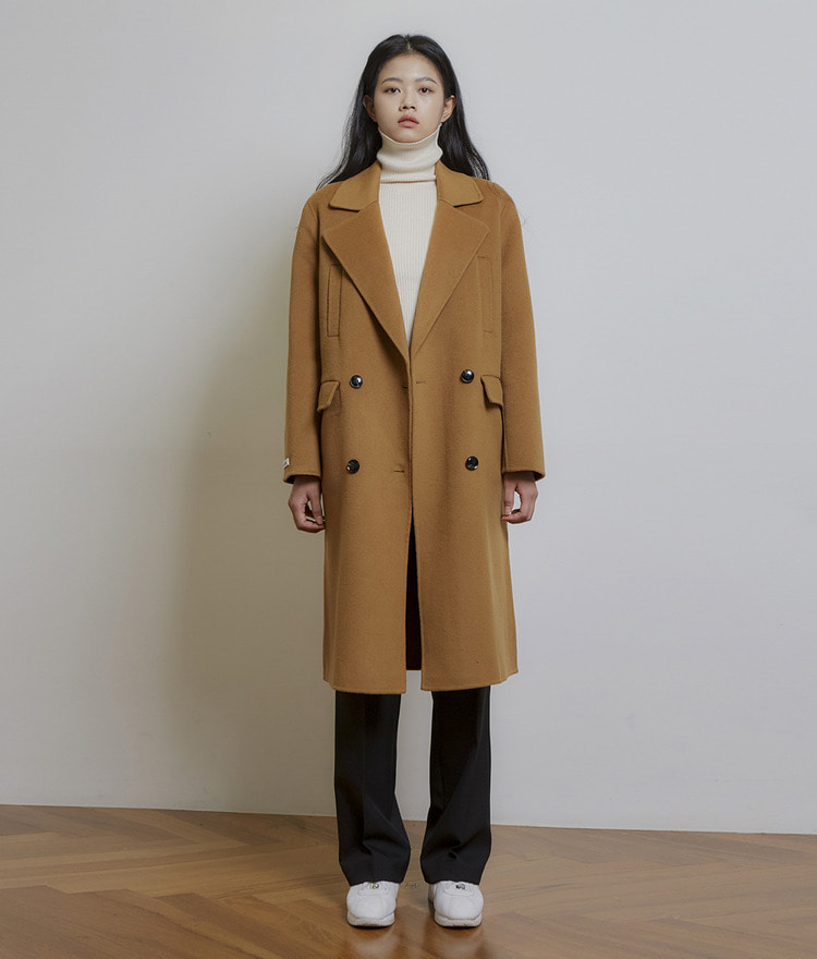 ESSAYDouble-Breasted Wool Coat