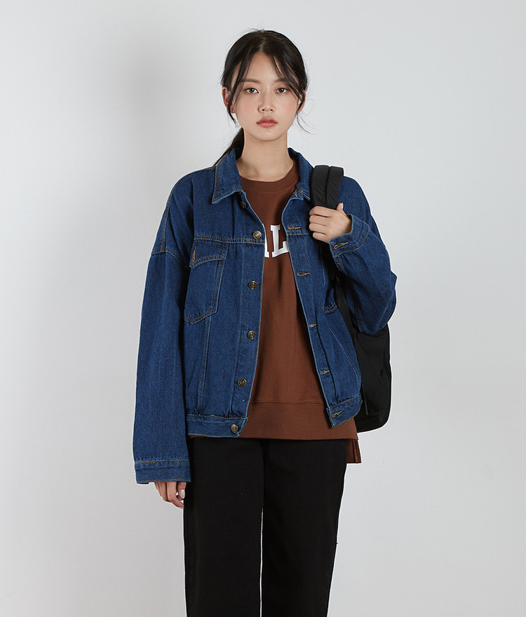 ESSAY Loose Fit Denim Jacket