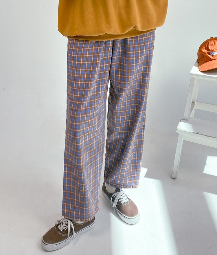 NEVERM!NDLoose Fit Check Pants