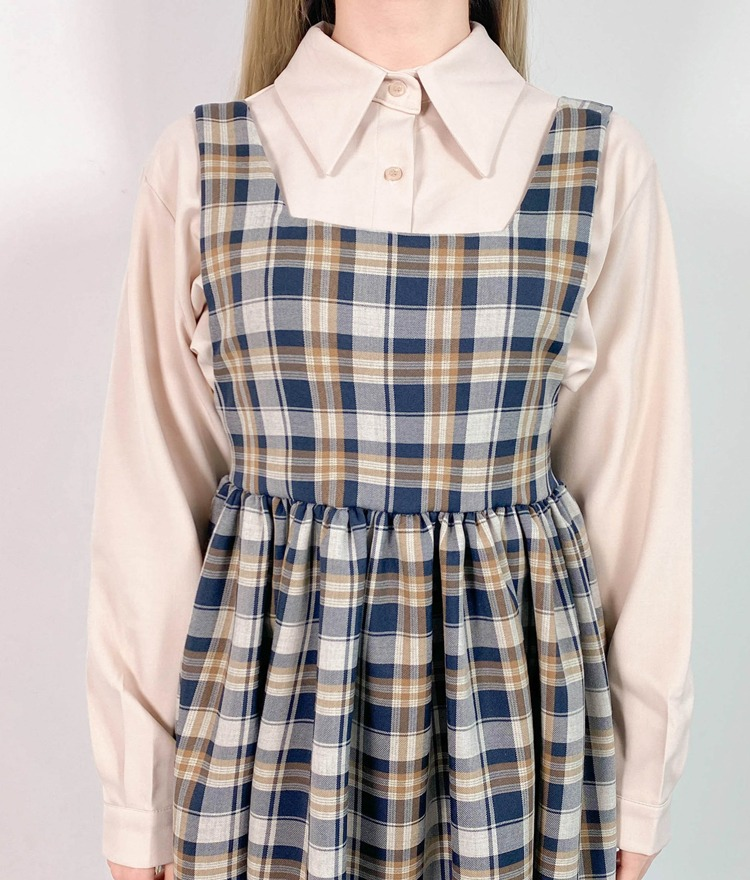NEVERM!NDPointed Collar Blouse