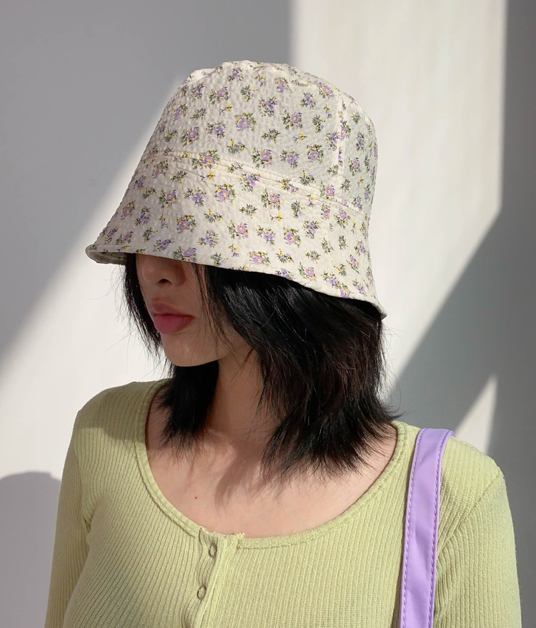 NEVERM!NDDitsy Floral Bucket Hat