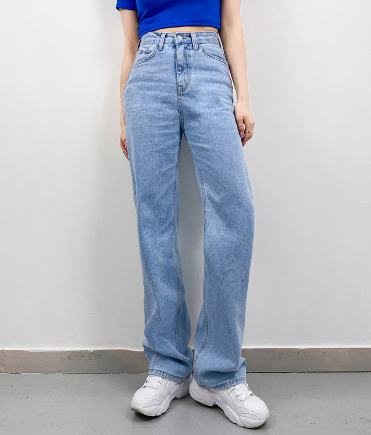 QUIETLABHigh Waist Loose Fit Jeans