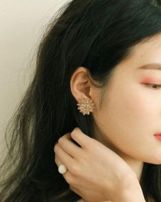 [V,Collect]비즈크리스탈 귀걸이
